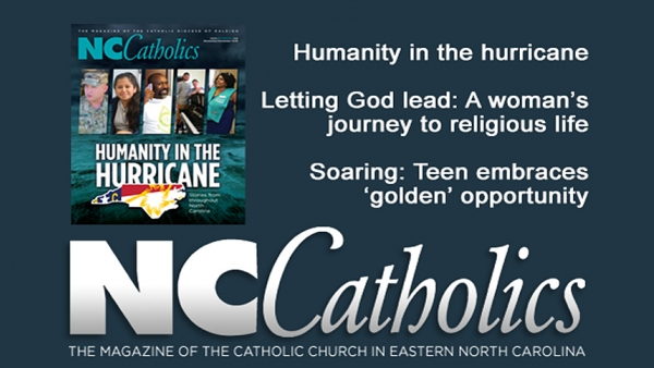 Nov-Dec 2018 issue of NC Catholics is available online.
